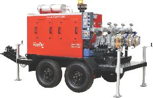 MFT-6000-D Trailer Mounted Fire Pump