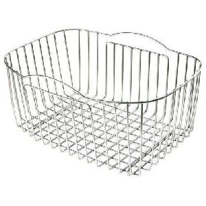Stainless Steel Kitchen Utensil Basket