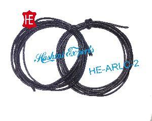 Antique Black Round Leather Cord
