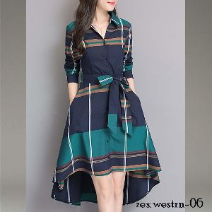 Zex Western Dress