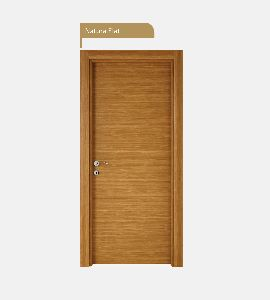Natura Flat Wooden Door