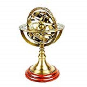 Brass Armillary Astrolabe