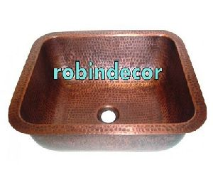 Copper & Brass Wash Basin