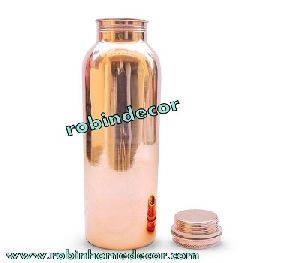 Copper Plain Water Bottle