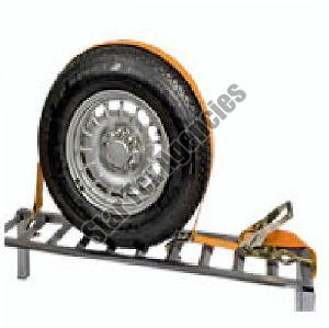 Car Wheel Lashing System