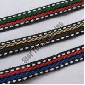Footwear Narrow Woven Tape