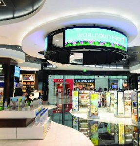 Ceiling Circular LED Display