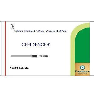 Cefixime Trihydrate Ofloxacin Cefidence 0 Tablets