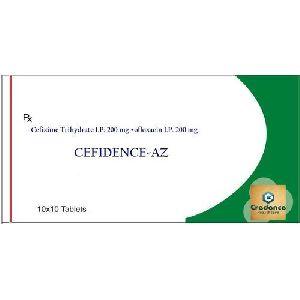 Cefixime Trihydrate Ofloxacin Cefidence AZ Tablets
