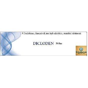 Declofenac Linseed Oil Methyl Salicylate Menthol Ointment