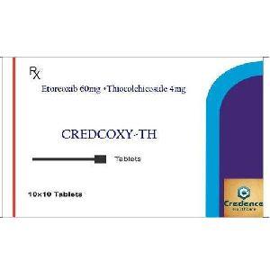 Etorcoxib Thiocolchicoside Tablets