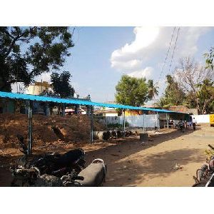 Two Wheeler Parking Shed