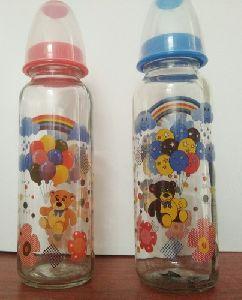 Baby Glass Feeding Bottle