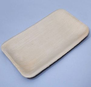 Rectangular Areca Leaf Plate