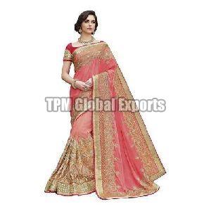 zari work sarees