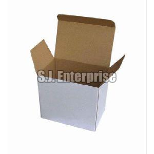 White Carton Box