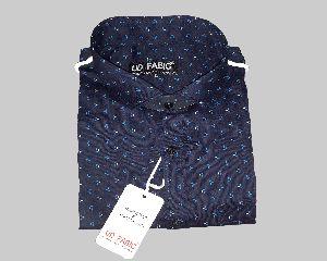 Mens Blue Fancy Shirt