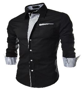 Mens Casual Slim Fit Shirt