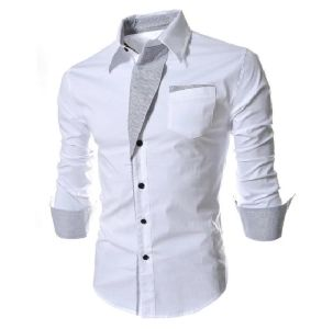 Mens Designer Slim Fit Shirt