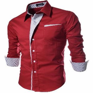 Mens Stylish Slim Fit Shirt