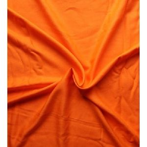Orange Rayon Fabric