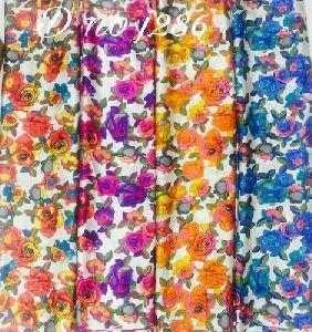 Satin Printed Fabric