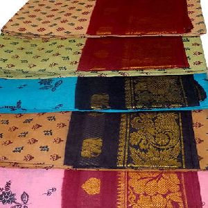 Sungudi Cotton Saree