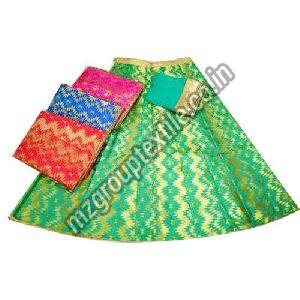 Party Wear Silk Lehenga