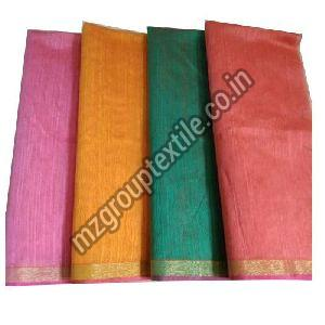 Plain Chanderi Fabric