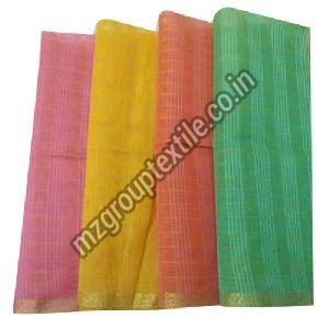 Striped Chanderi Fabric