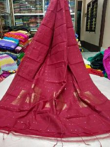 Silk Cotton Handloom Saree