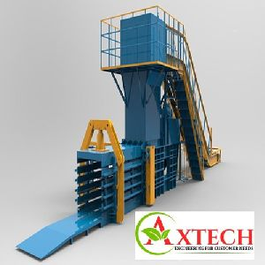 Wheat Hay Straw & Paper Baler Machine