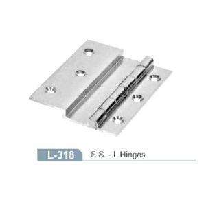 Stainless Steel L Hinge