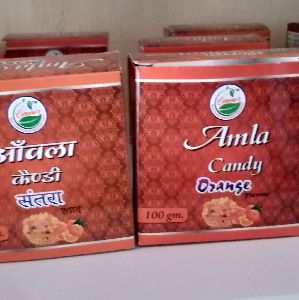 Orange Flavour Amla Candy