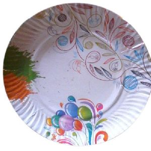 Printed Paper Plate