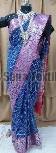 Banarasi Checkered Sarees