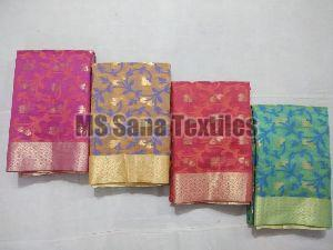 Designer Chanderi Cotton Sarees