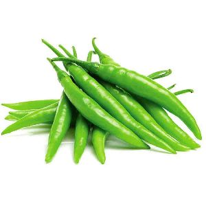 Fresh Organic Green Chilli
