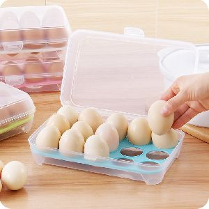 Plastic Transparent Egg Tray