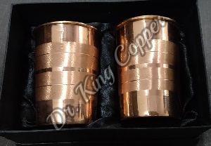 2 Piece Copper Glass Set