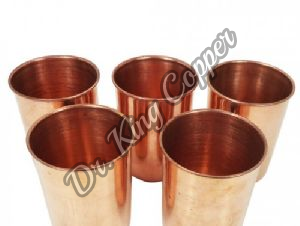 5 Piece Copper Glass Set