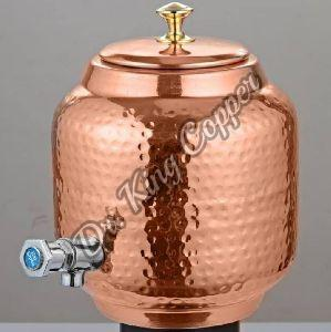 Copper Hammered Water Tank