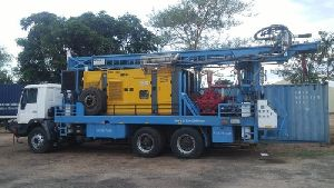DTH Water Borewell Drilling Machine