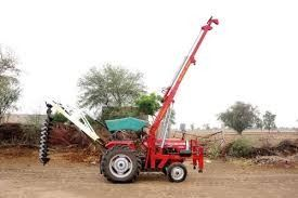 Earth Digging Hole Machine