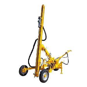 Hydraulic Wagon Drill Rig for Basalt (ROCK) Drilling