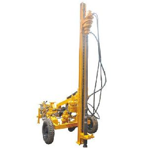 Hydraulic Wagon Drilling Machine