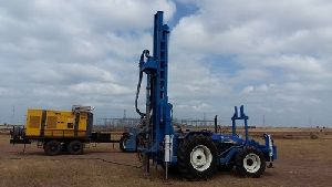 Tractor Mounted Mineral Exploration Drilling Rig