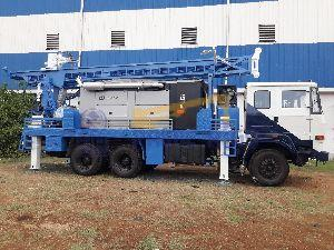 PDTHR-300 Truck Mounted DTH Cum Rotary Drilling Rig