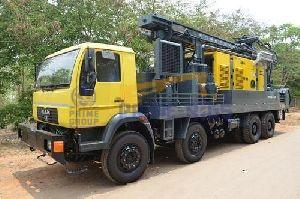 MAN Truck Mounted Rock Water Well Drilling Rig