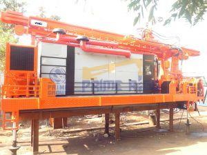Skid Mounted DTH Cum Rotary Drilling Rig